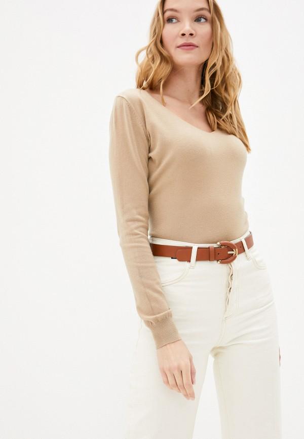 женский пуловер b.style, бежевый