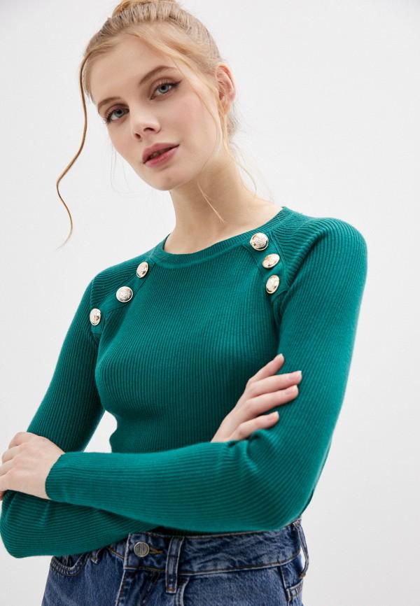 женский джемпер b.style, зеленый