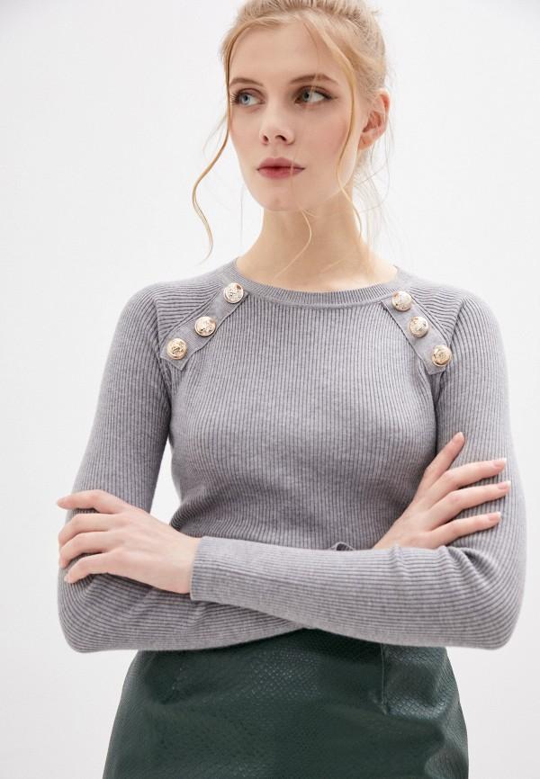 женский джемпер b.style, серый