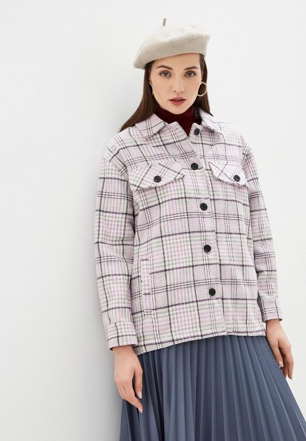 женское пальто b.style, розовое