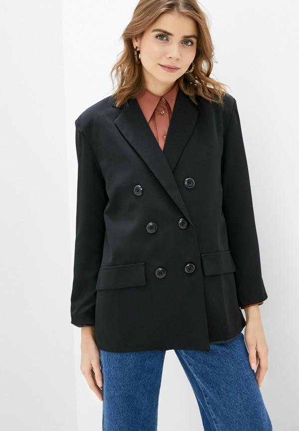 женский пиджак b.style, черный