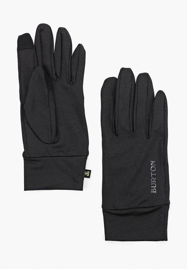 женские перчатки burton, черные