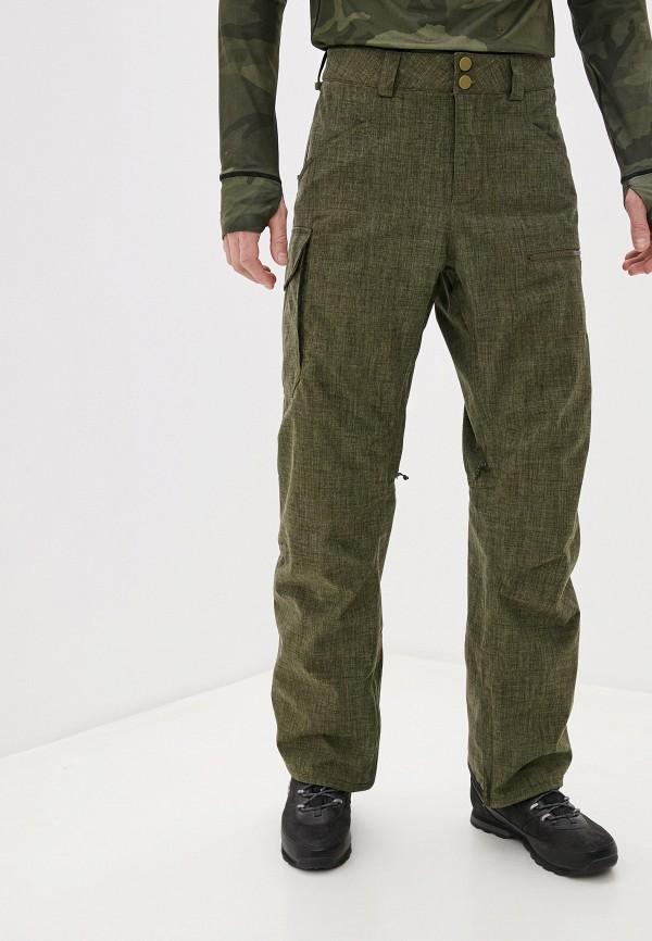мужские брюки burton, хаки