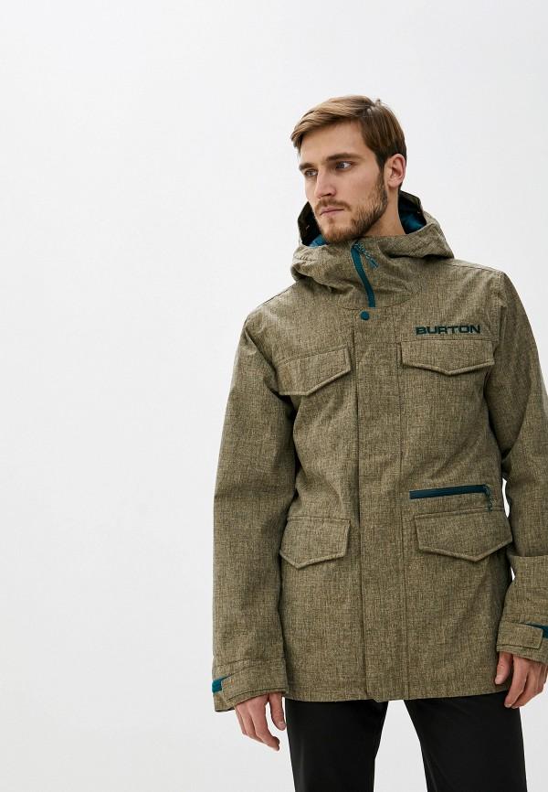мужская горнолыжные куртка burton, хаки