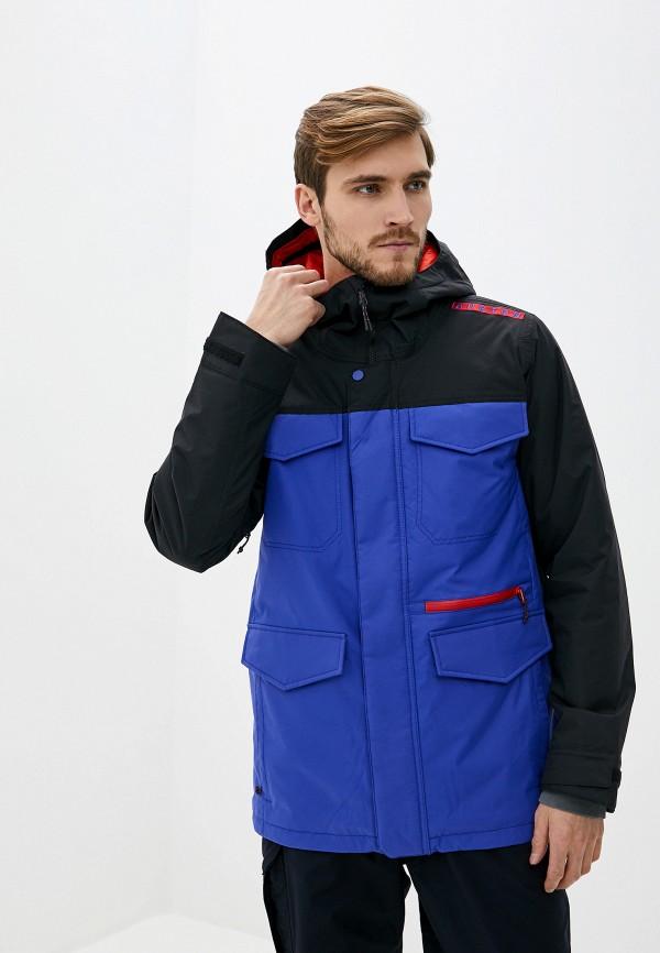 мужская горнолыжные куртка burton, синяя