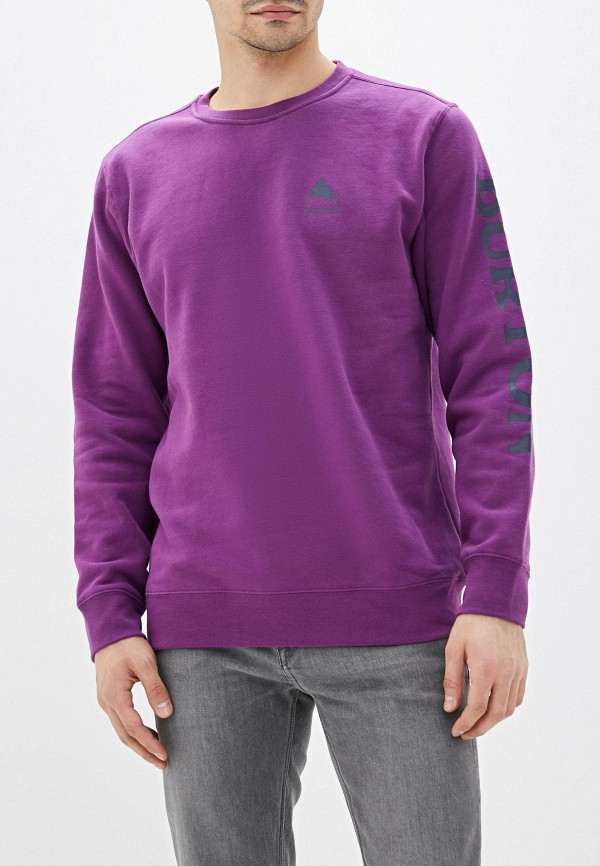 мужской свитшот burton, фиолетовый