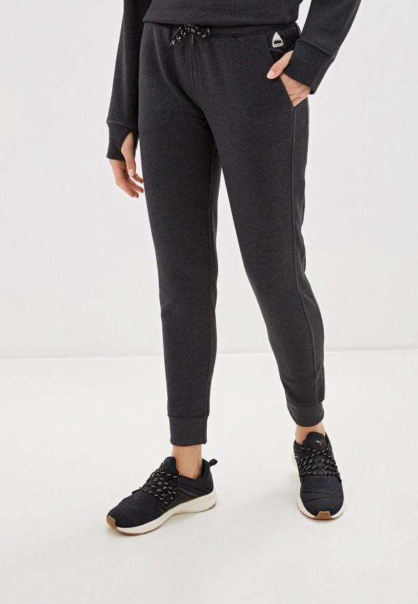 женские спортивные брюки burton, серые