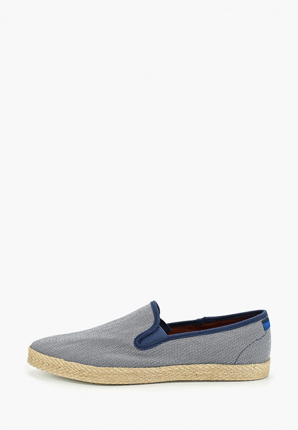 мужские слипоны burton menswear london, голубые