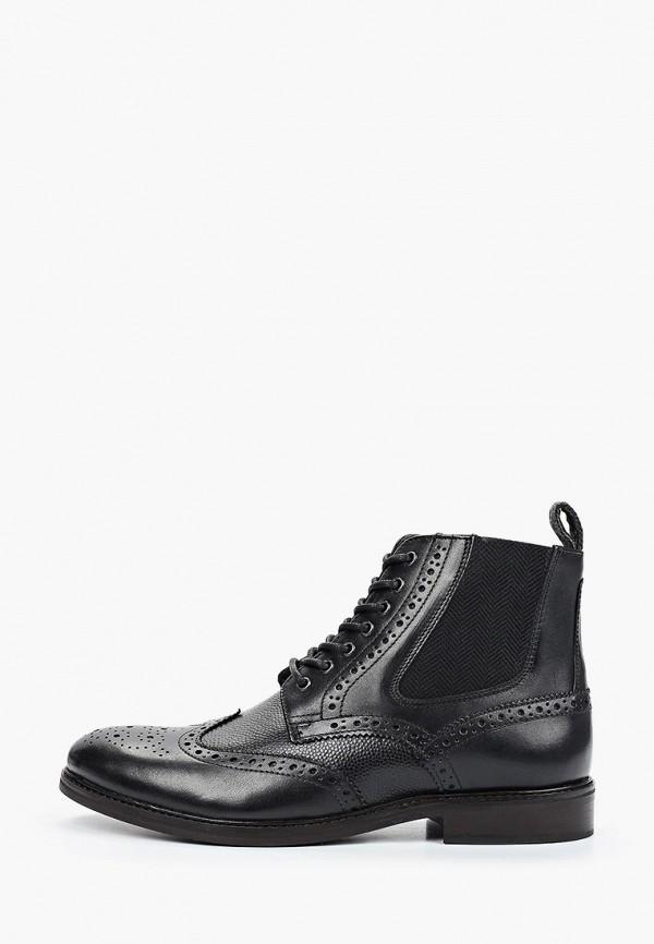 мужские ботинки burton menswear london, черные
