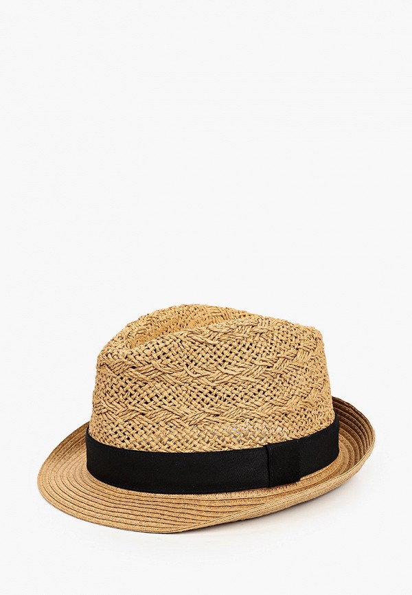 мужская шляпа burton menswear london, бежевая