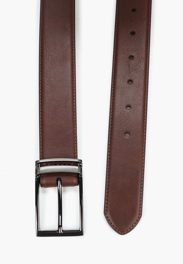 Фото 2 - Ремень Burton Menswear London коричневого цвета