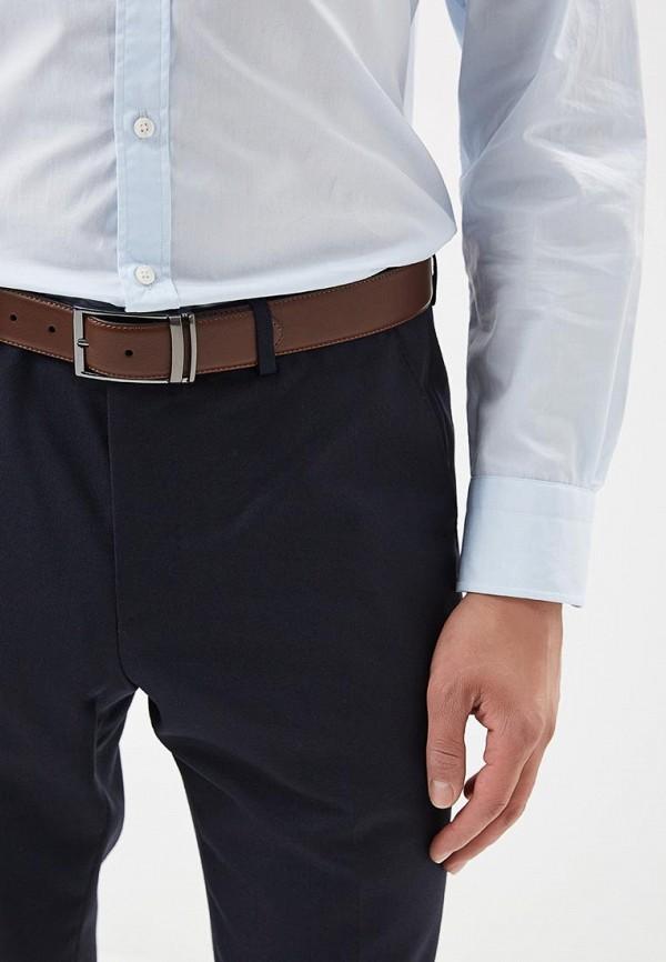 Фото 3 - Ремень Burton Menswear London коричневого цвета