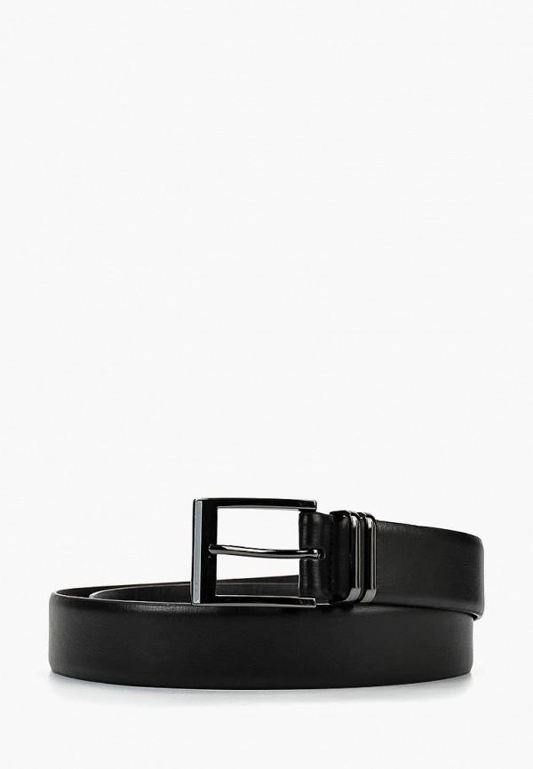 Ремень Burton Menswear London, BU014DMCBKM1, черный, Осень-зима 2018/2019  - купить со скидкой