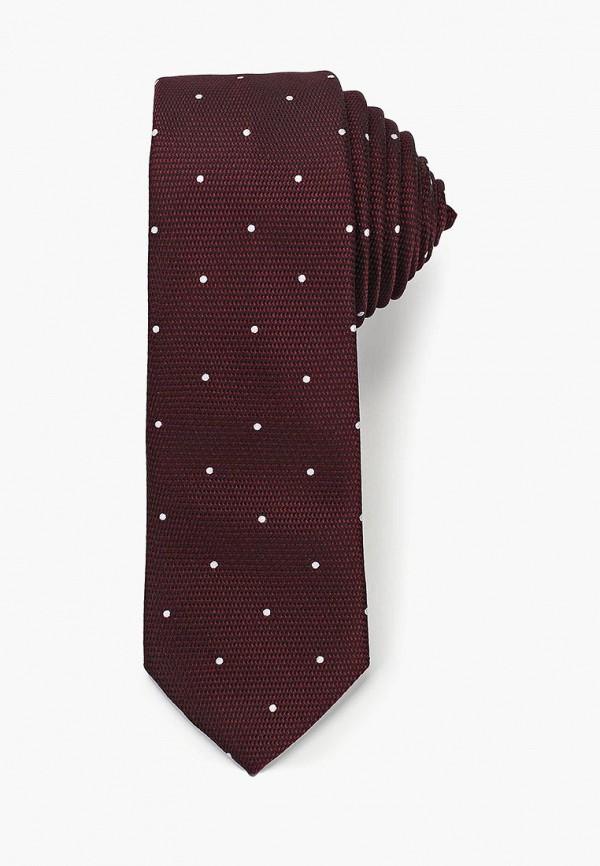 мужские галстуки и бабочки burton menswear london, бордовые