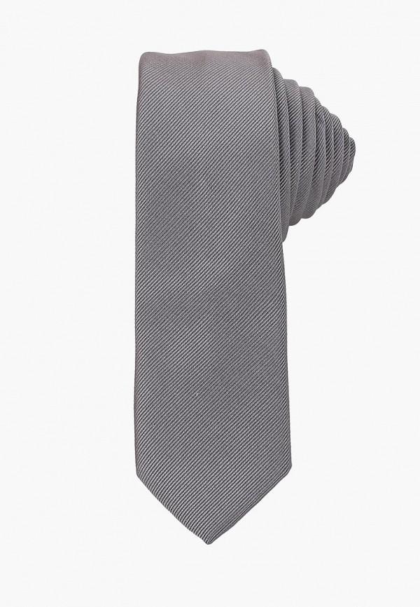 мужские галстуки и бабочки burton menswear london, серые