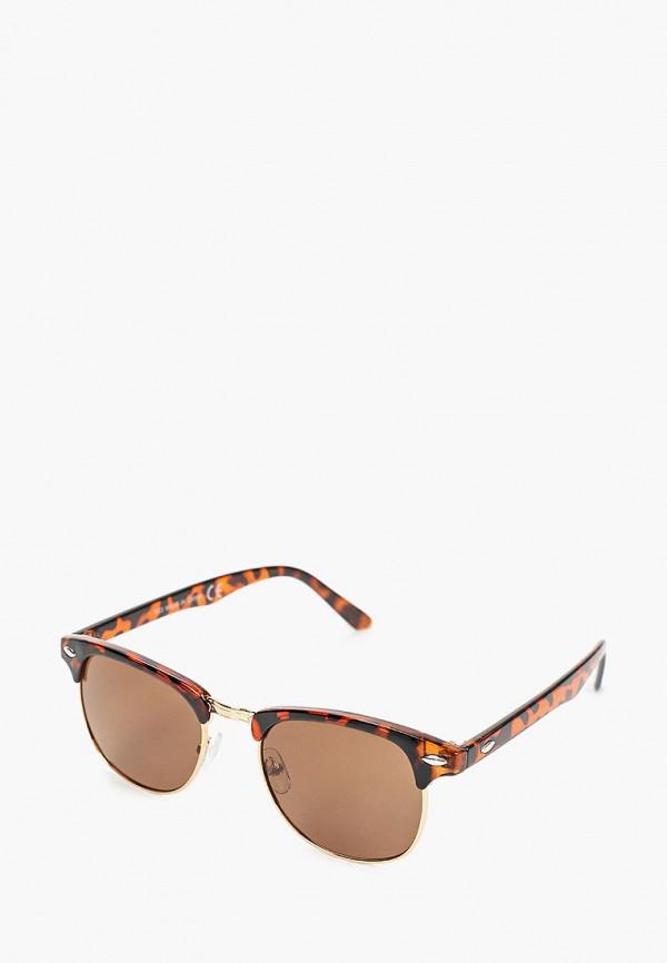 мужские солнцезащитные очки burton menswear london, коричневые