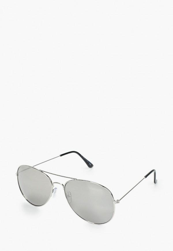 мужские солнцезащитные очки burton menswear london, серебряные