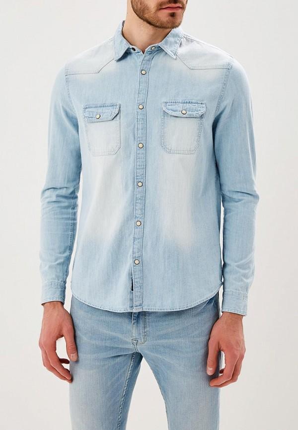 Рубашка джинсовая Burton Menswear London Burton Menswear London BU014EMARYG9 burton menswear london