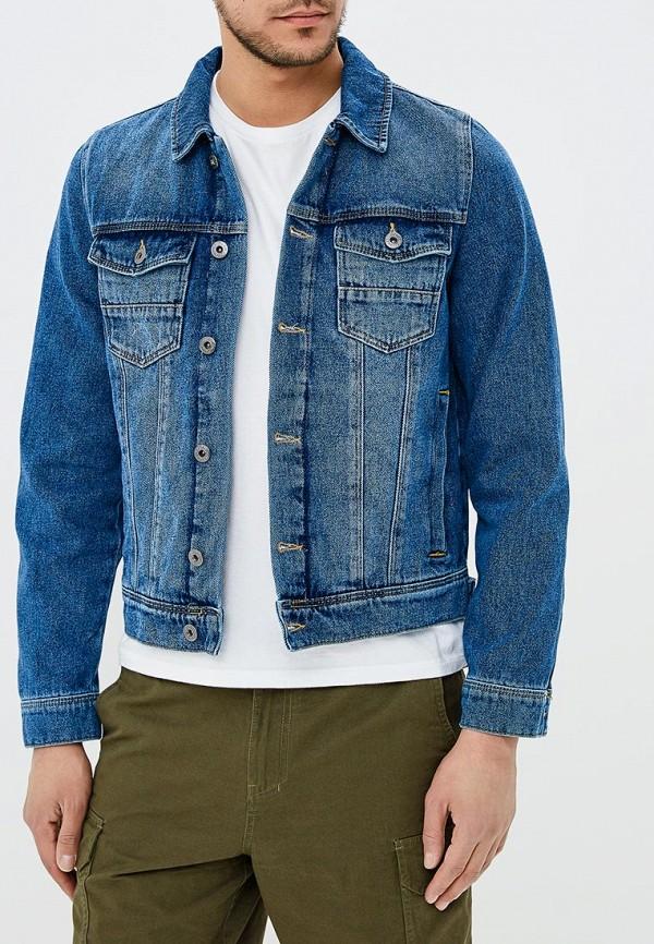 Куртка джинсовая Burton Menswear London Burton Menswear London BU014EMBADX4 куртка зимняя детская burton ms amped jk mascot