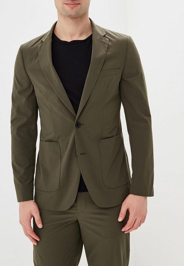 мужской пиджак burton menswear london, зеленый