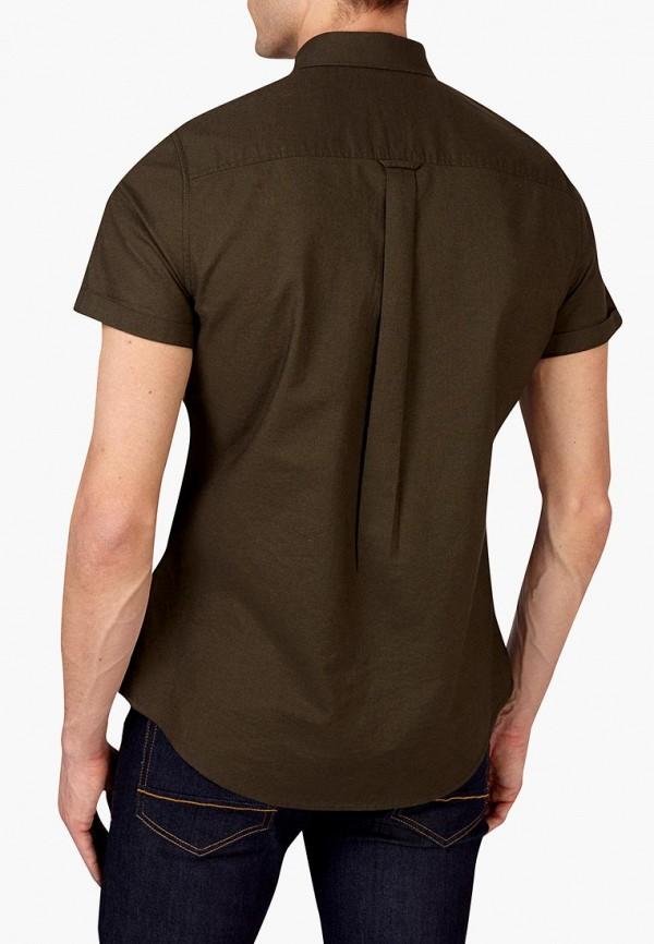Фото 3 - мужскую рубашку Burton Menswear London цвета хаки