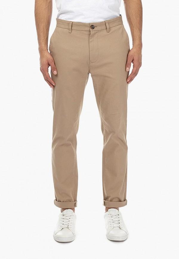 мужские брюки чинос burton menswear london, бежевые