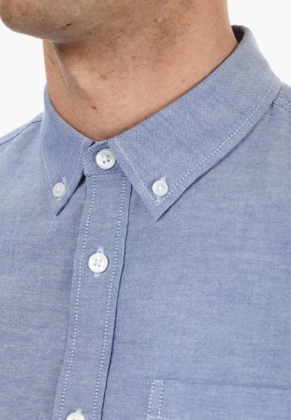Фото 4 - мужскую рубашку Burton Menswear London голубого цвета