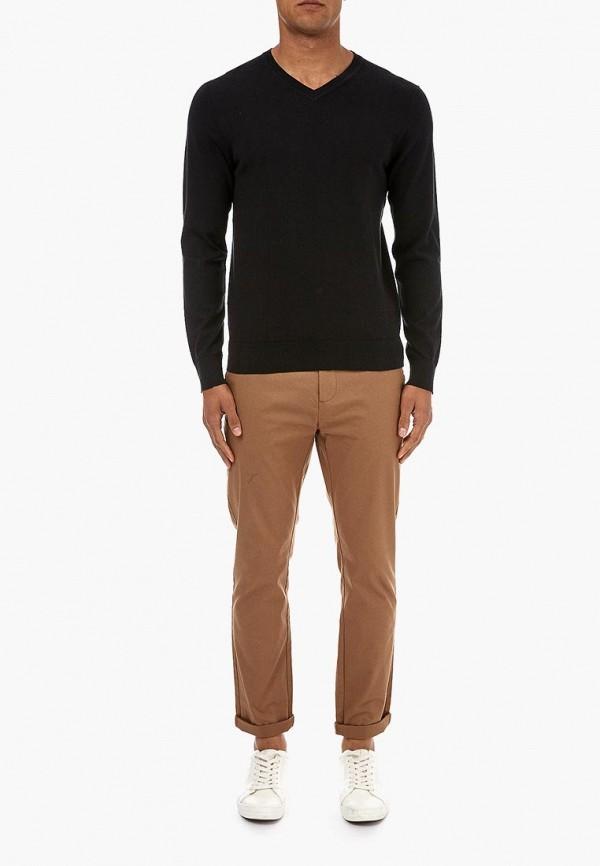 Фото 2 - мужской пуловер Burton Menswear London черного цвета