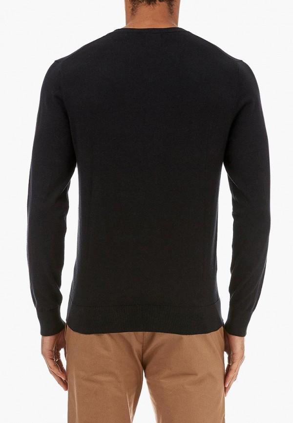 Фото 3 - мужской пуловер Burton Menswear London черного цвета
