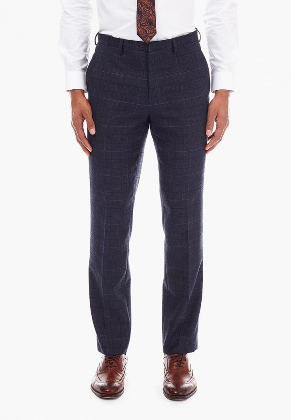мужские классические брюки burton menswear london, синие