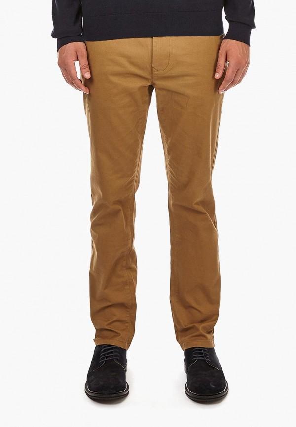 мужские повседневные брюки burton menswear london, коричневые