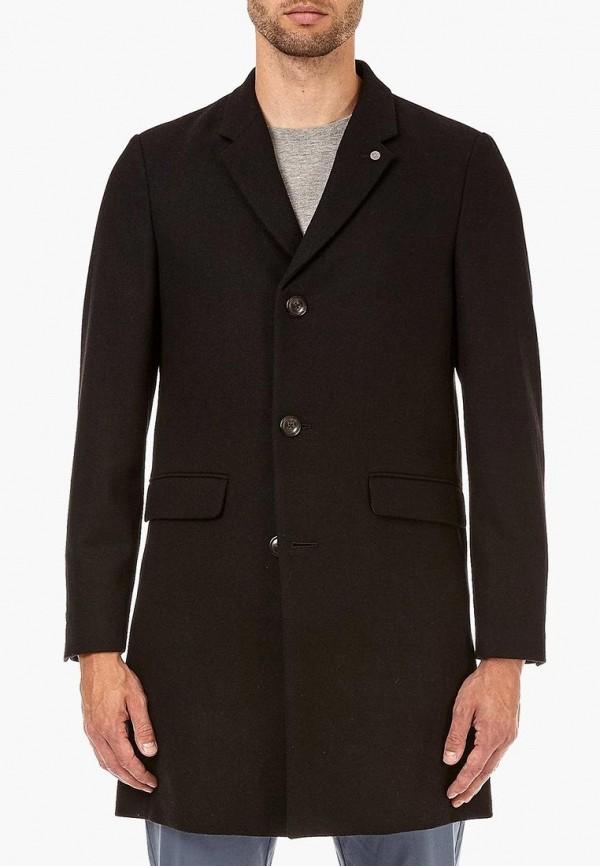 мужское пальто burton menswear london, коричневое