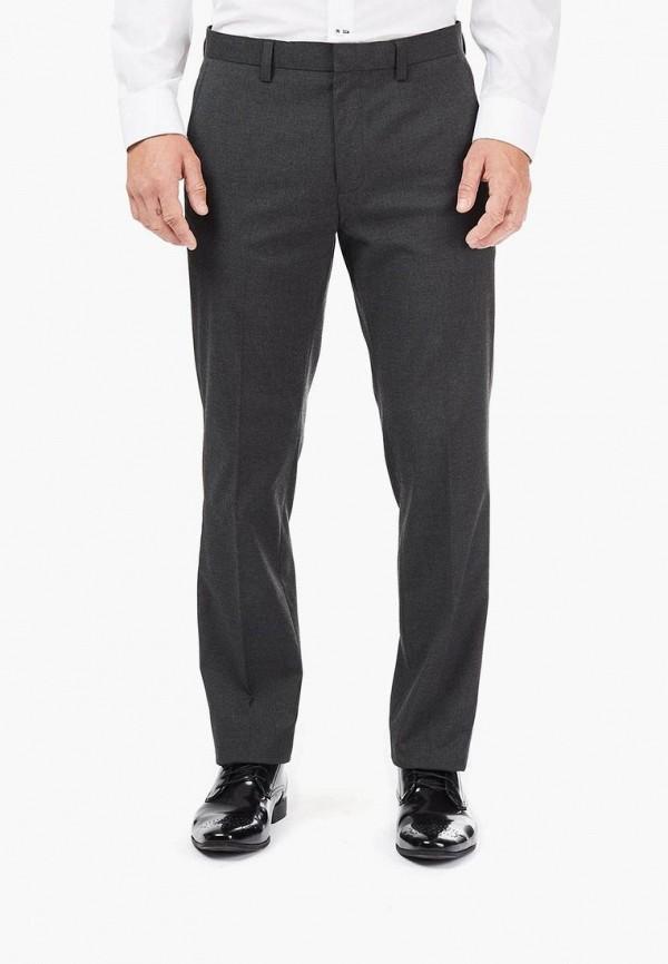 мужские классические брюки burton menswear london, серые