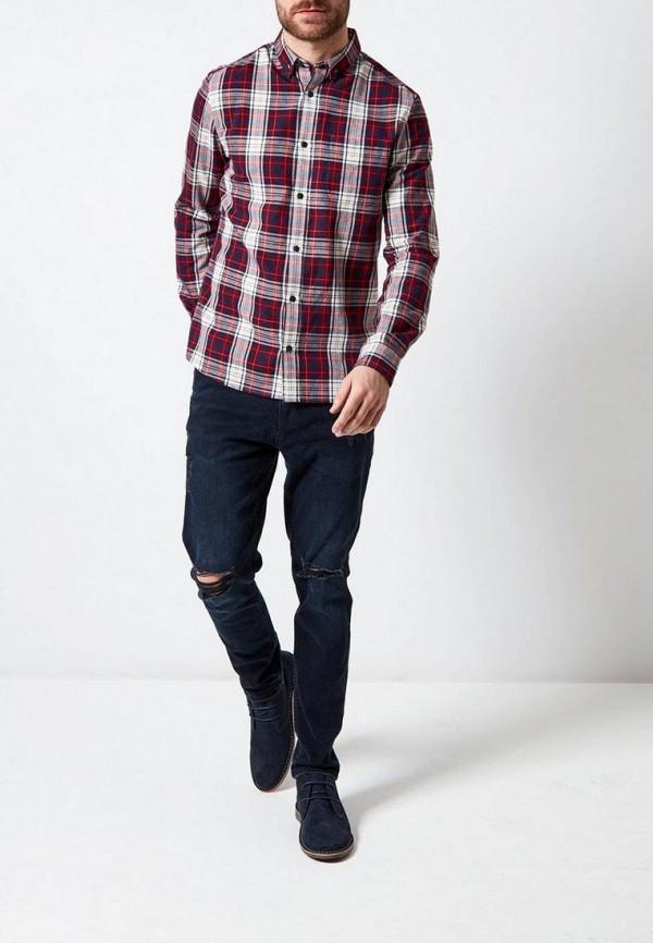 Фото 2 - мужскую рубашку Burton Menswear London разноцветного цвета