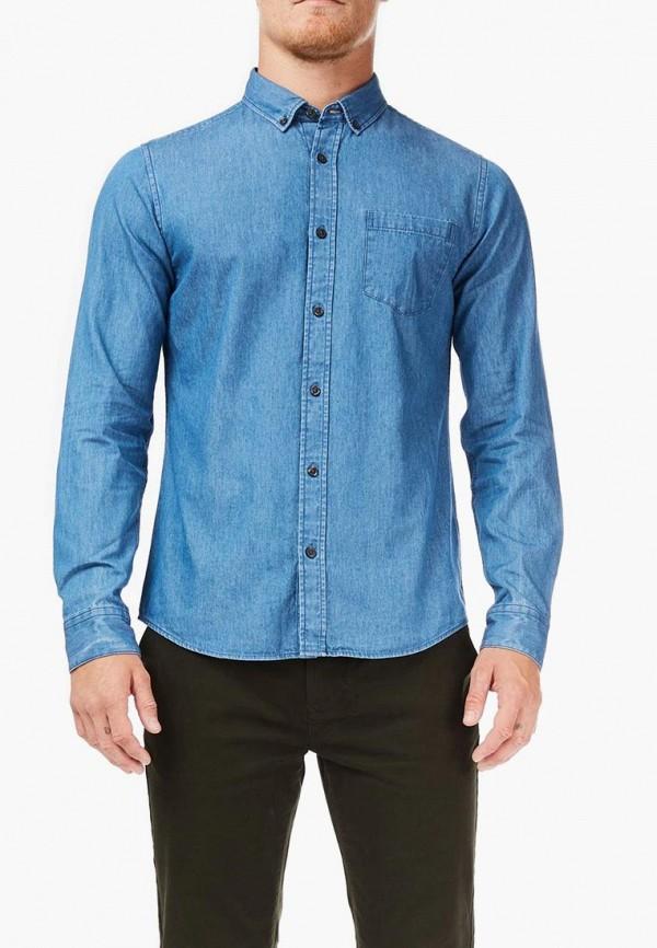 мужская джинсовые рубашка burton menswear london, голубая