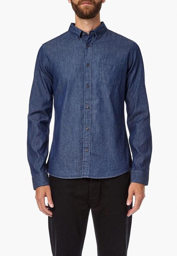 мужская джинсовые рубашка burton menswear london, синяя