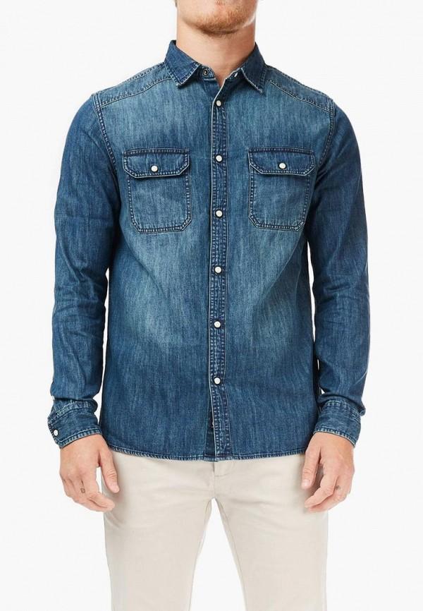 Рубашка джинсовая Burton Menswear London Burton Menswear London BU014EMECGU3 рубашка burton menswear london burton menswear london bu014emcfjz3