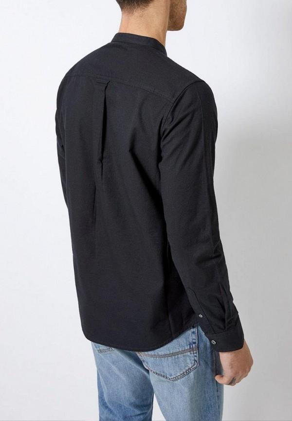 Фото 3 - мужскую рубашку Burton Menswear London черного цвета