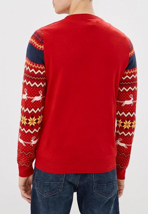 Фото 3 - мужское джемпер Burton Menswear London красного цвета