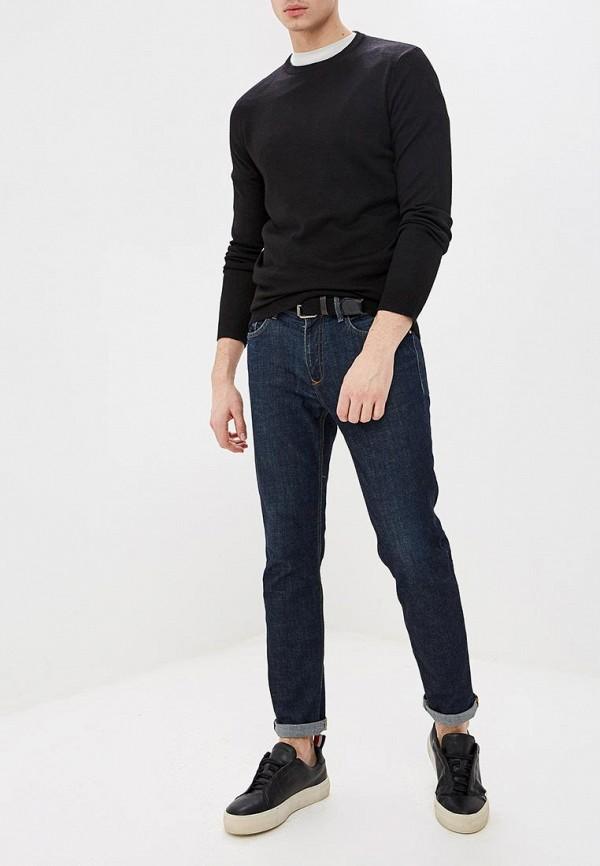 Фото 2 - мужское джемпер Burton Menswear London черного цвета