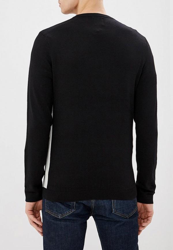 Фото 3 - мужское джемпер Burton Menswear London черного цвета