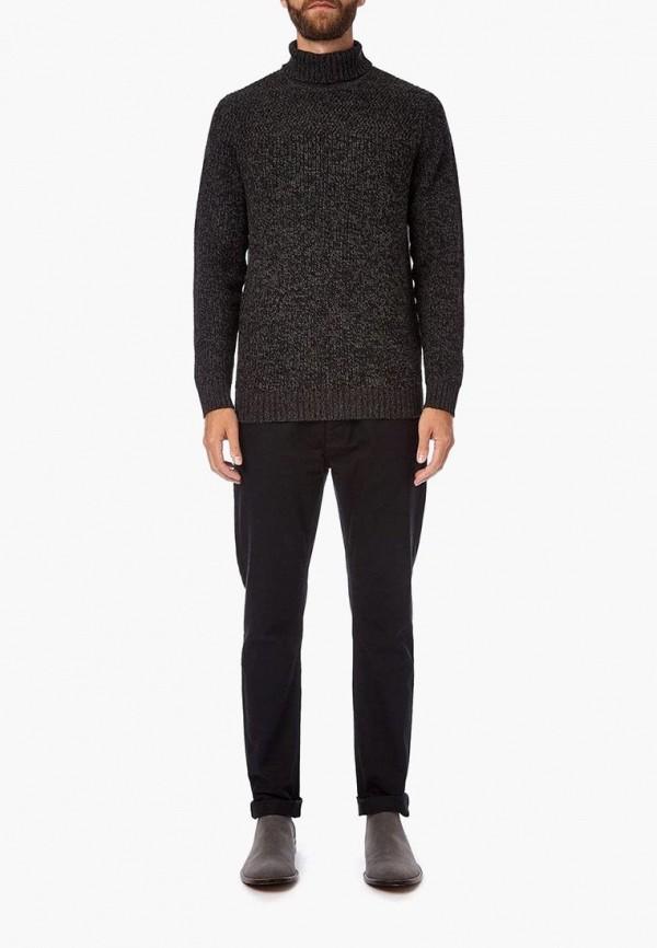 Фото 2 - мужской свитер Burton Menswear London серого цвета