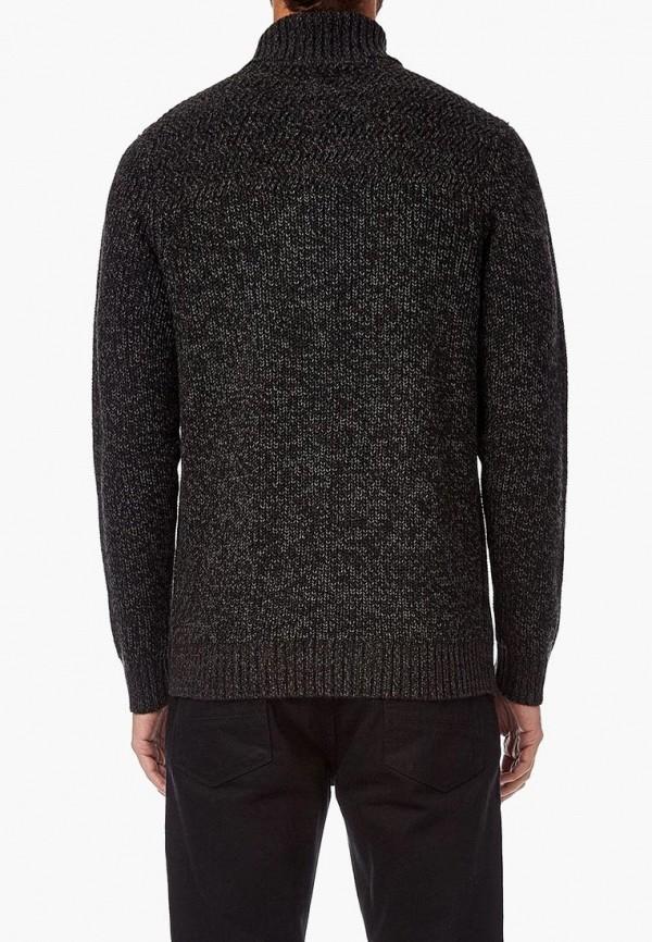 Фото 3 - мужской свитер Burton Menswear London серого цвета