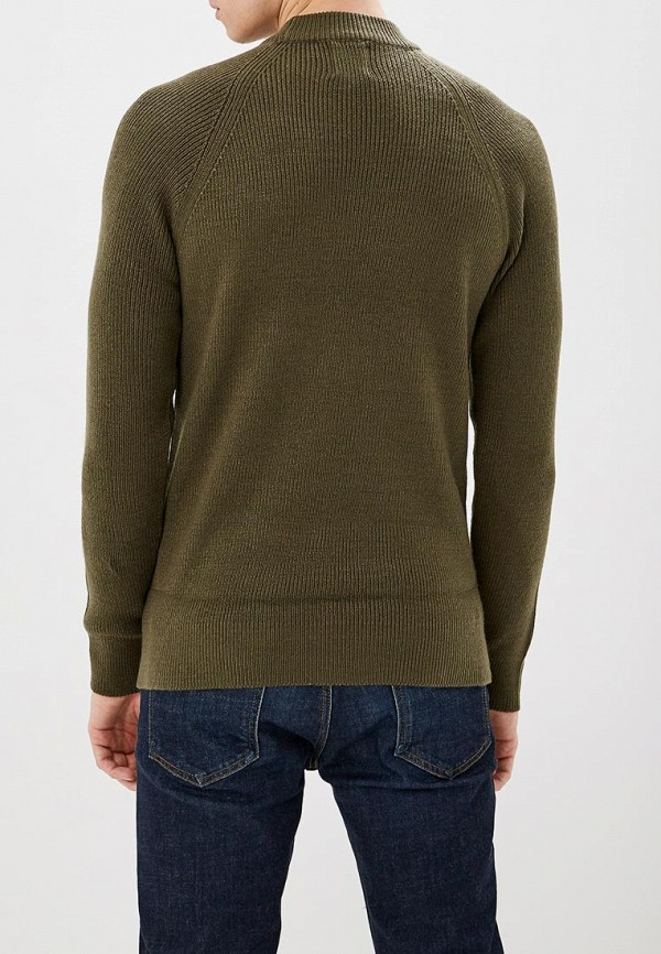 Фото 3 - мужское джемпер Burton Menswear London цвета хаки