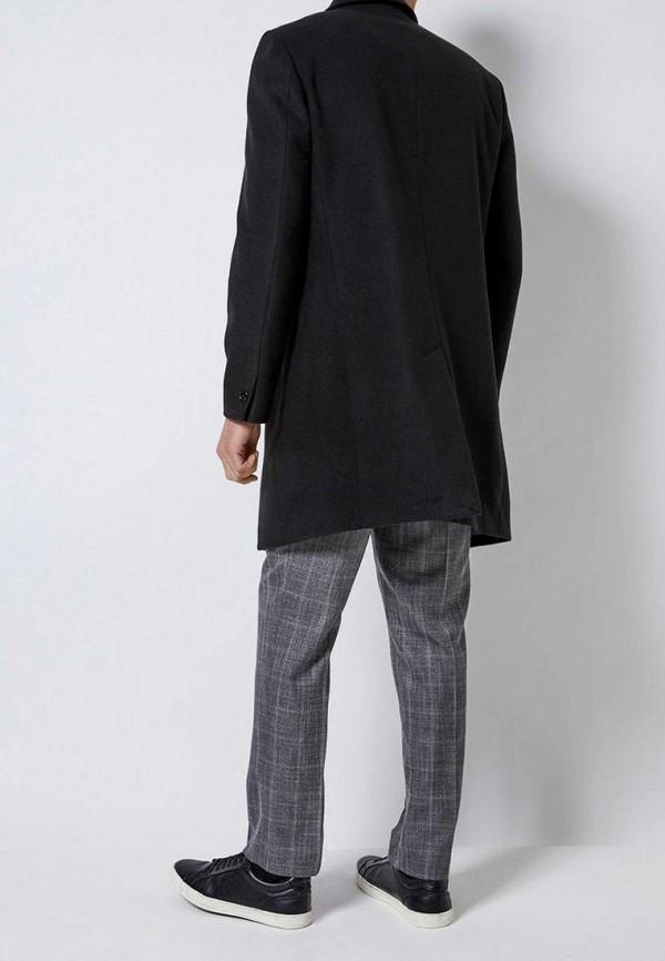 Фото 3 - мужское пальто или плащ Burton Menswear London черного цвета