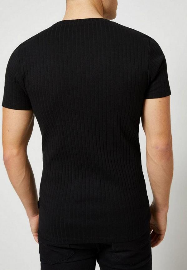Фото 3 - мужскую футболку Burton Menswear London черного цвета