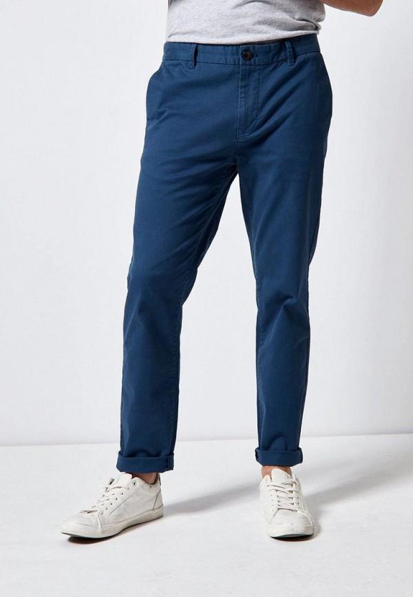 мужские брюки чинос burton menswear london, синие