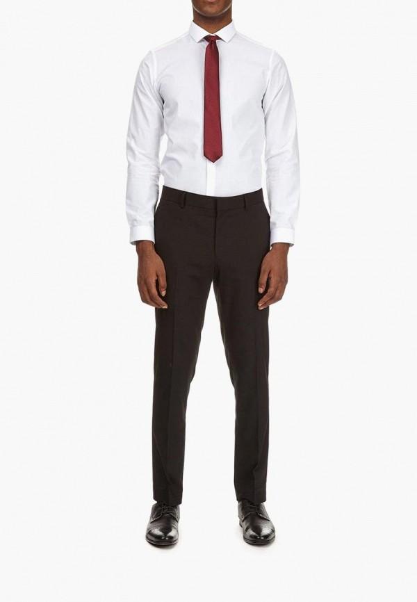 Фото 2 - мужские брюки Burton Menswear London черного цвета