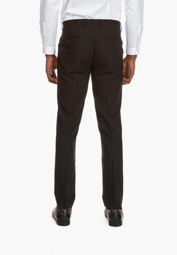 Фото 3 - мужские брюки Burton Menswear London черного цвета