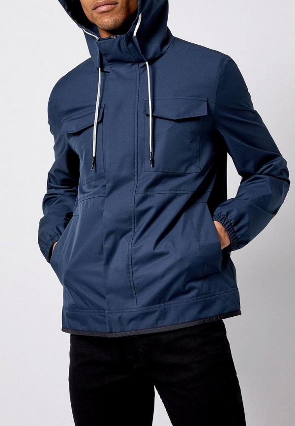 мужская ветровка burton menswear london, синяя